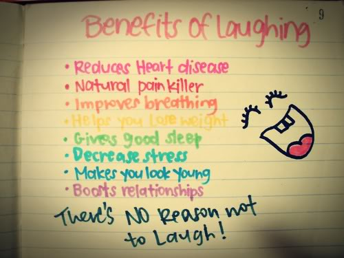 laughter benefits