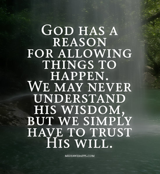 god has a reason