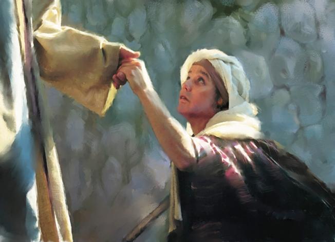Jesus-healing-woman