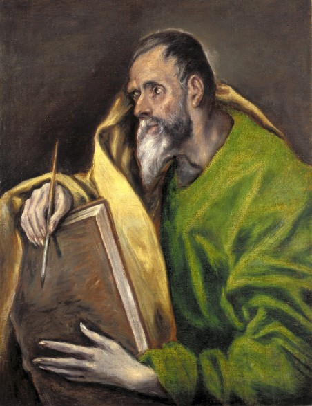 St._Luke,_Painting_by_El_Greco._Indianapolis_Museum_of_Art