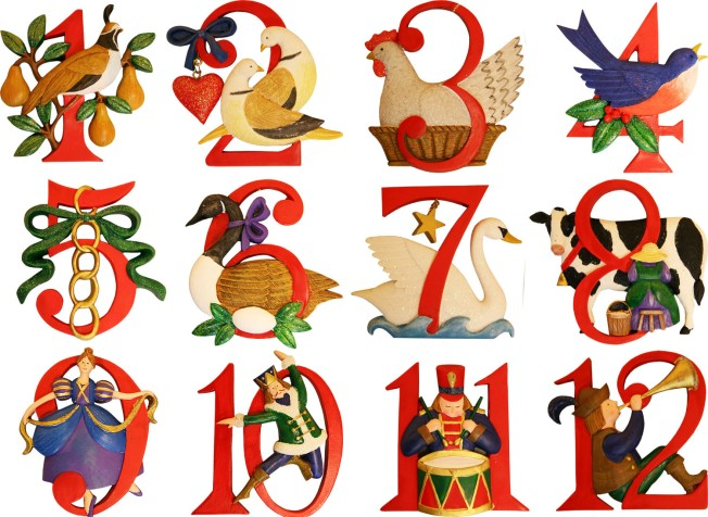 twelve-days-of-christmas-ornament-set