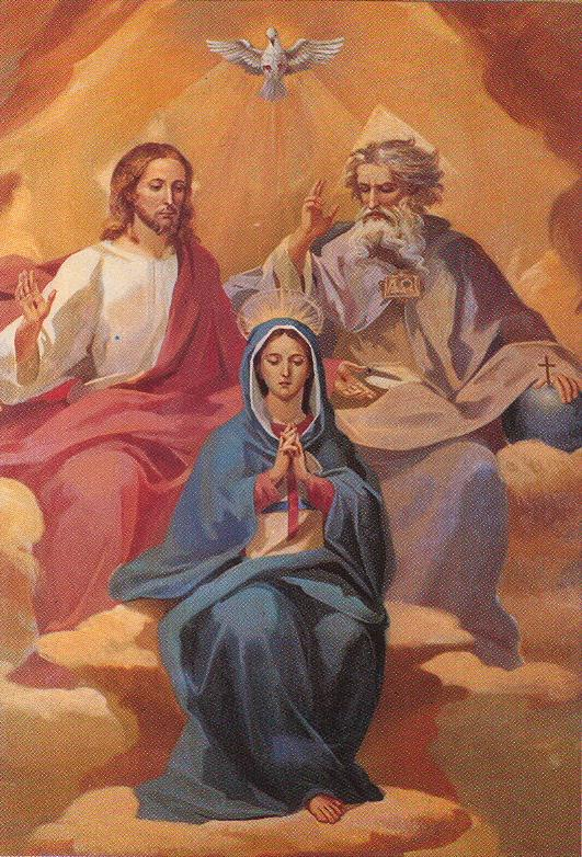 HolyTrinity with Mary